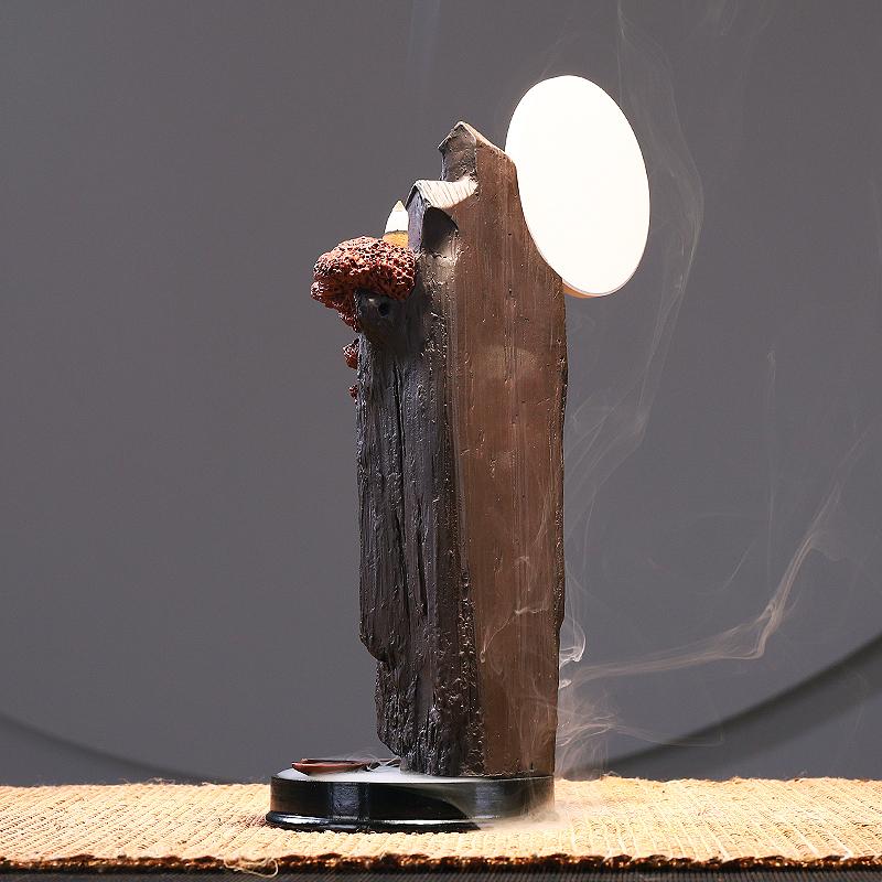 倒流香香炉摆件檀香家用高山流水室内供佛优惠券