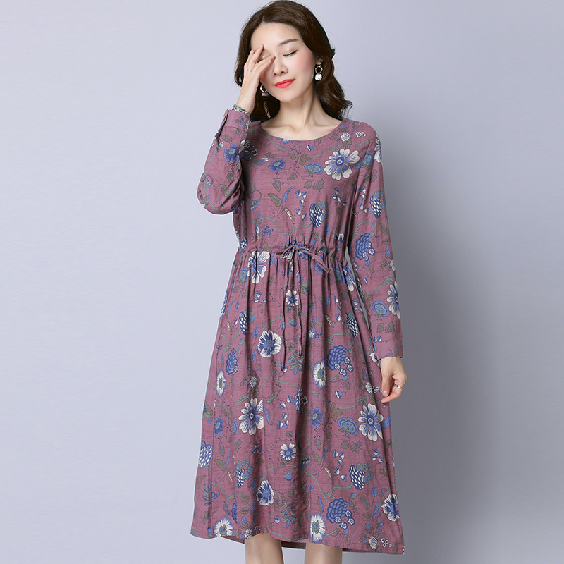 新出炉一种碎花裙,适合三四十的女人,显白显嫩更显档次