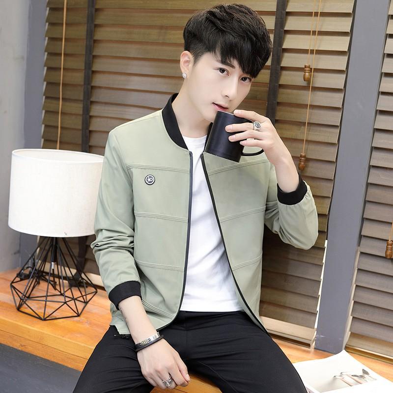 韩版修身休闲时尚男式夹克外套优惠券