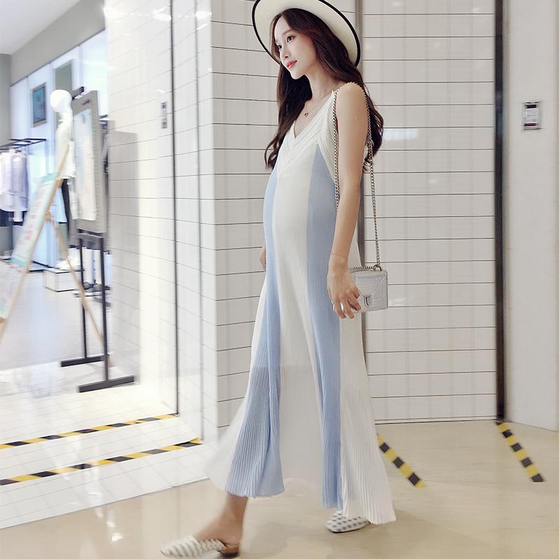 孕妇一定不要穿的像大婶一样,今年流行的孕妇装,让你美出新高度