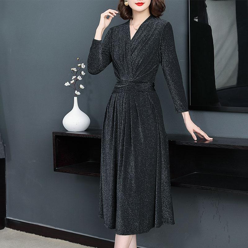 秋装新款黑色连衣裙优惠券
