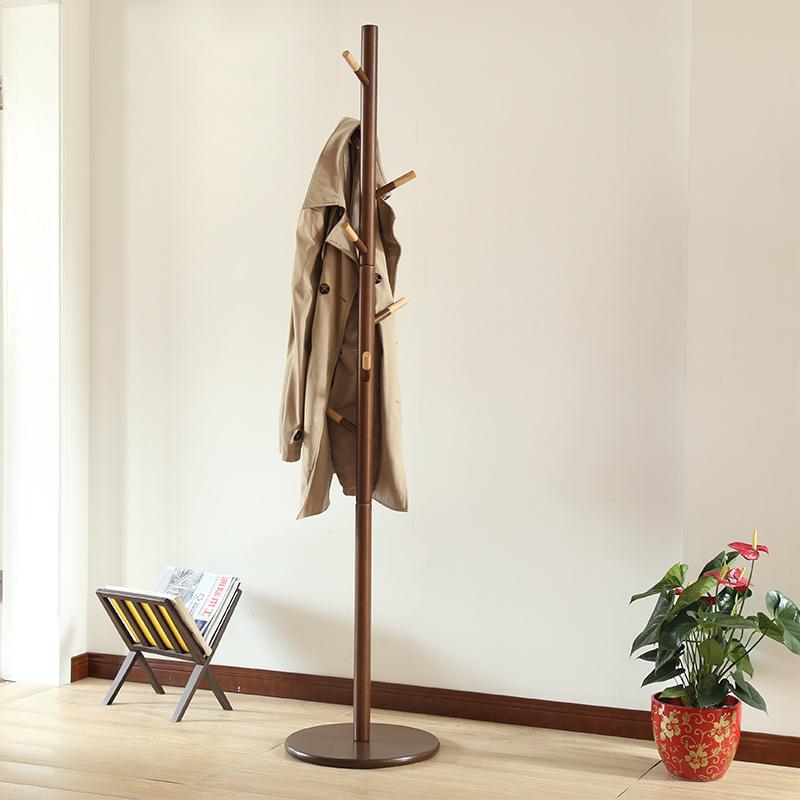 越茂创意衣帽架简约落地卧室挂衣架家用简易衣服架优惠券